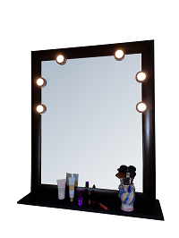 Desktop LED Mirror